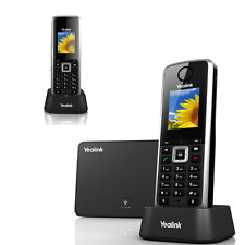 Yealink W52P DUO - Schnurloses VoIP-Telefon - IP-DECTGAP - SIP, SIP v2, SRTP