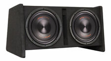 """PRECISION POWER SNBX212 TWO 12"""" 800W SUBWOOFERS BASS AMPLIFIER PORTED BOX NEW"""