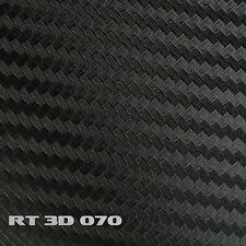 (5,22€/m²) Film De Carbone 3D Structure noir 152 x 200 cm Film adhésif mat eclat