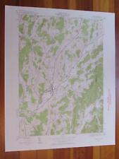 Salem New York 1958 Original Vintage USGS Topo Map