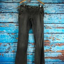 Converse One Star Trinity Boot Black Gray Jeans Womens 29