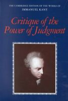 Critique of the Power of Judgment, Paperback by Kant, Immanuel; Guyer, Paul (...