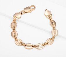 18ct Gold Filled Men's Women's Gucci-Link Bracelet
