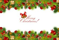 Christmas Ring Photography Backdrops 5x3Ft Theme Party Photo Background Vinyl