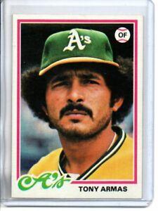 1978 TOPPS TONY ARMAS (NM/MT) *