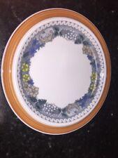 Goebel Oeslauer Manufaktur Bavaria Country Burgund Bread Butter Plates