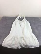 Xhilaration Women's/Juniors Sleeveless White Swim Cover-up Size Small