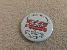 Farnham Maltings March 1987 Collectors Fair Pin Badge