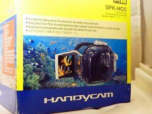 Sony Spk-Hcc Handicam Unterwasser Kamera Gehäuse UX7 HC8 SR5 Original OEM
