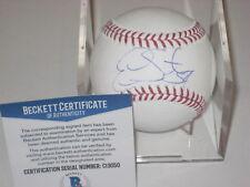 ERVIN SANTANA (Minnesota Twins) Signed Official MLB Baseball w/ Beckett COA