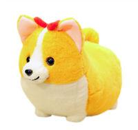 Cute Corgi Dog Stuffed Animal Corgi Dog Cartoon Plush Doll Gift For Kids 38 cm