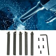 5pcs/set CNC Indexable Cemented Carbide Insert Turning Tools lathe Cutting tools