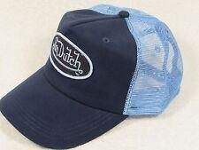 NEW GENUINE Von Dutch Mesh Trucker Biker Snapback Hat Cap Adjustable NAVY BLUE
