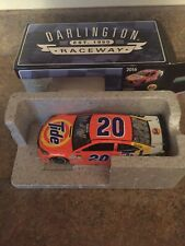 Matt Kenseth & Darrell Waltrip Dual AUTOGRAPHED 2016 Darlington Throwback 1/24