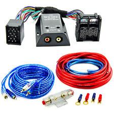 High Low Adapter Endstufe Kabel Set 10mm² für BMW E46 E39 Mini One Land Rover