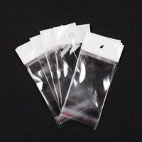 200pcs/Lot Clear Cellophane Cello Bags Plastic Bags OPP Self Adhesive Seal Bag