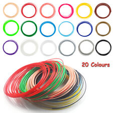 20 Colours  Pen 3D Filament Refills 1.75mm ABS  Printing Ink Drawing 20 x 20 ft