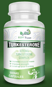 Pure Turkesterone Uk (POTENT!) - 60x500mg Capsules - ECDY Supplements