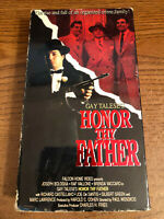 Honor Thy Father VHS VCR Tape Movie Brenda Vaccaro, Raf Vallone, Bologna Used