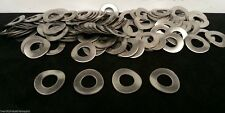 """3/8"""" & 5/16"""" Stainless Steel Wave / Curved Washers 25 pcs Stainless Din 137B"""
