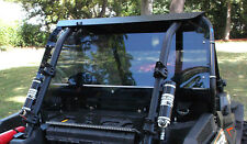 "POLARIS RZR XP 1000 3/16"" DARK TINTED REAR PANEL WINDSHIELD KIT 40011DT XTREME"