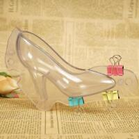 3D High Heel Shoe Chocolate Candy Cake Mould DIY Decor Jelly Ice Soap Mold
