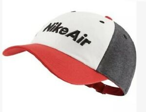 Nike Air Cap New Original With Tags. Unisex Youth Red / White / Grey 1 Size
