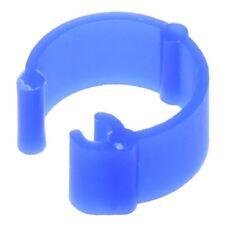 100Pcs Mixed Color Pigeon Leg plastic Foot Rings Band Inner Diameter 8mm U9S6