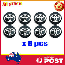8 X 14mm Toyota Car Sticker Key Fob Remote Badge Emblem Logo Replacement Decor