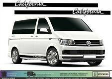 Van Transporter California T4 T5 T6 Edition Sticker Autocollant Graphic Decal