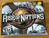 Rise of Nations - PC Strategy PC Game - New and Sealed