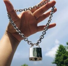 Padlock Pendant Necklace Stainless Steal
