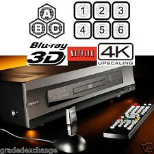 OPPO DIGITAL BDP-105 MULTI REGION CODE FREE 3D BLU-RAY PLAYER 4K UPSCALING USED