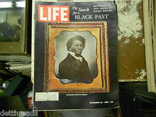 LIFE MAG - 11/22/1968 - The Search for a Black Past / Bitter Years of Slavery