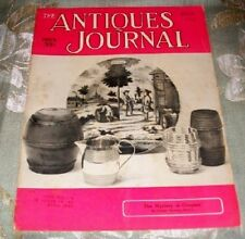 The Antiques Journal July 1956 Mystery of Coopers