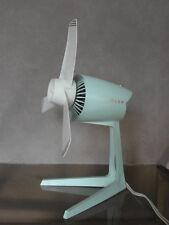 vintage fan desk table 60s 70s ufo design old modernist fan ventilator