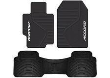 Plasticolor 001408R01 Honda Accord Front & Rear Floor Mats New Free Shipping USA