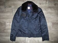 Vtg Alpha Industries Cold Weather Security Police Sherpa Field Coat Jacket 38