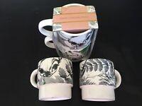 Original Disney 2er Set BAMBI Tasse Produkt Mug Becher Stapel Tassen Reh Wild E-