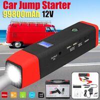 99800mAh 12V Auto Jump Starter Avviatore Batteria Emergenza Booster Portatile