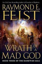 Wrath of a Mad God by Raymond E. Feist (2008, Hardcover) Darkwar Saga 3