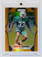 2017 Panini Prizm JAMAL ADAMS ROOKIE #262 Orange Prizm SP 128/275 - Seahawks 🔥
