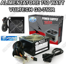 ALIMENTATORE 750W ATX FAN 12 cm ON/OF Retail VULTECH GS-750R CASE PC FISSO