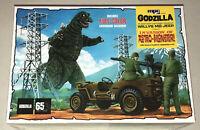 MPC Godzilla Army Jeep 1:25 scale model kit new 882