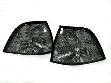 Depo 92-99 BMW E36 2D Coupe/Convertible Euro Smoke Corner Signal Light M3 Pair