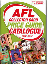 AFL COLLECTOR CARD PRICE GUIDE CATALOGUE (1988-2017 ) EDITION 3 (700 PAGES)-new*