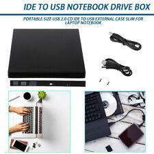 SATA Hard Drive External USB 2.0 Enclosure Case CD IDE To USB Durable Case US BP