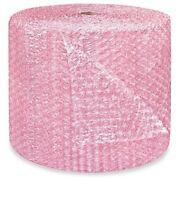 "1/2"" Large Bubble Cushioning Wrap Anti-Static Roll Padding 125' x 24"" Wide 125FT"