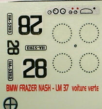 decals 1/43: BMW Frazer-Nash Le Mans 1937 N°28