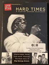 Big George Brock - Hard Times (DVD, 2006)